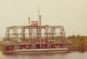 Trajekt Fährschiff II, März 1974